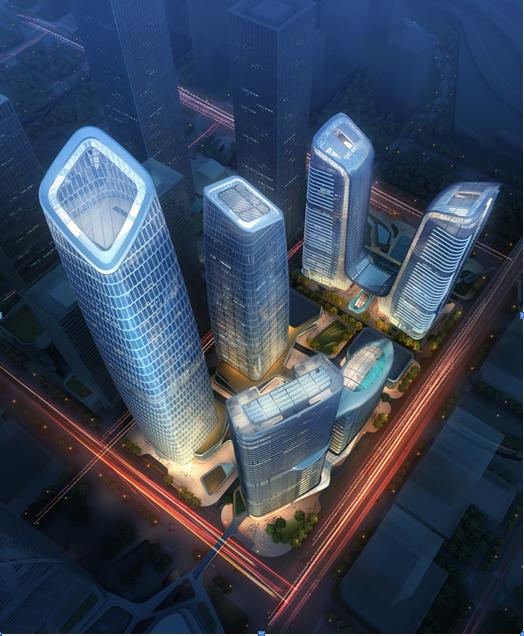 新地标 新高度——深圳前海卓越金融中心项目进入大面积施工阶段