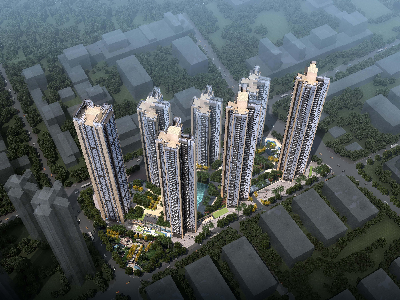 广州江河幕墙中标深圳华润项目润府三期工程