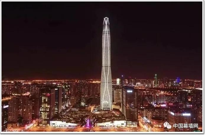 王者!江河幕墙携530米滨海第一高楼,加冕2021工程奖