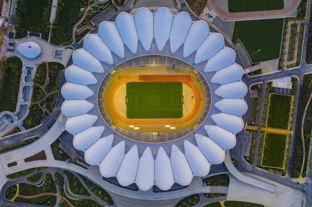 全球最佳 中國唯一 江河幕墻參建西安奧體中心體育場獲世界級殊榮