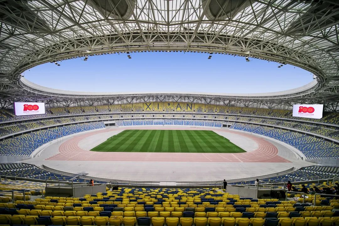 全球最佳 中国唯一 江河幕墙参建西安奥体中心体育场获世界级殊荣