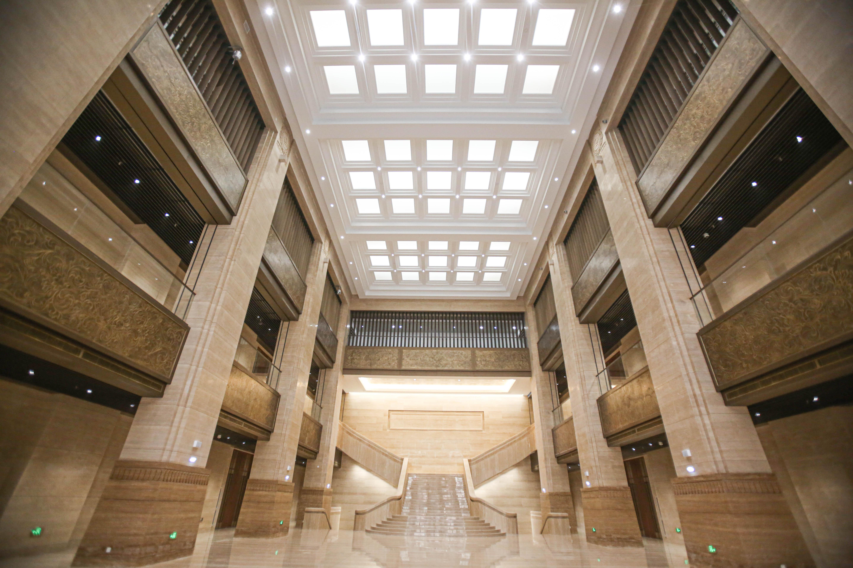 港源裝飾精品力作——中國第一歷史檔案館新館迎來首展
